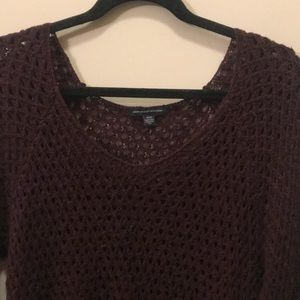 American Eagle Outfitters Sweaters - burgundy american eagle sweater